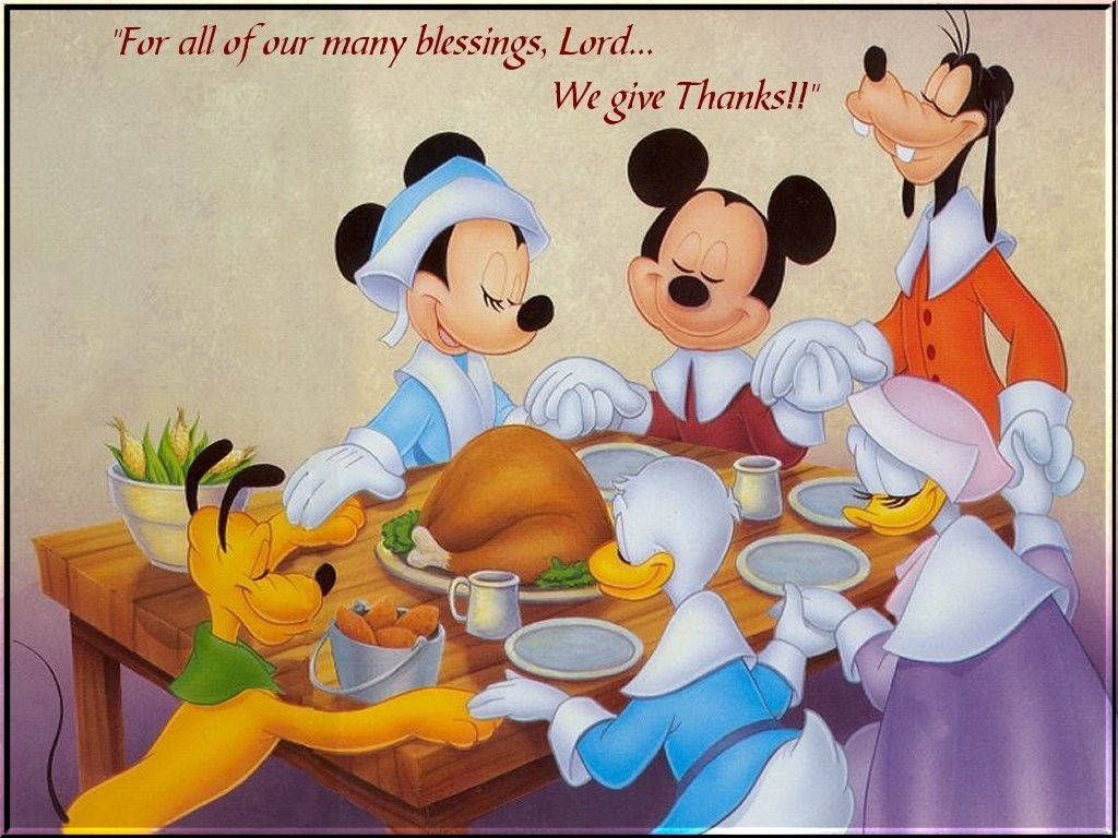 Cartoon Thanksgiving Wallpapers