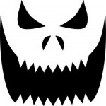 big_grin Pumpkin Face Free Pumpkin Carving Template