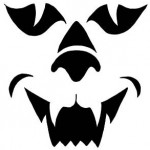 creepy_cat Pumpkin Face Free Pumpkin Carving Template