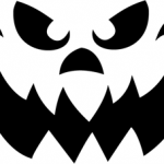 curvy_smile Pumpkin Face Free Pumpkin Carving Template