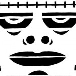 frankenstein Pumpkin Face Free Pumpkin Carving Template