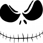 jack_skellington_2 Pumpkin Face Free Pumpkin Carving Template