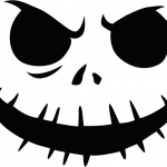 jack_skellington Pumpkin Face Free Pumpkin Carving Template