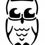 owl Pumpkin Face Free Pumpkin Carving Template
