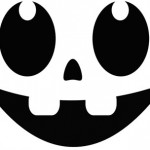 round_eyes Pumpkin Face Free Pumpkin Carving Template