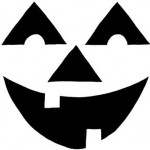 triangle_eyes Pumpkin Face Free Pumpkin Carving Template